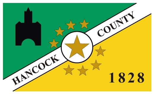 Hancock County flag